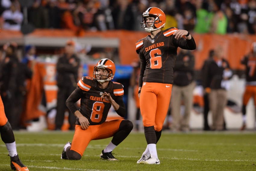 Cleveland Browns Kicking Situation Is Very Interesting