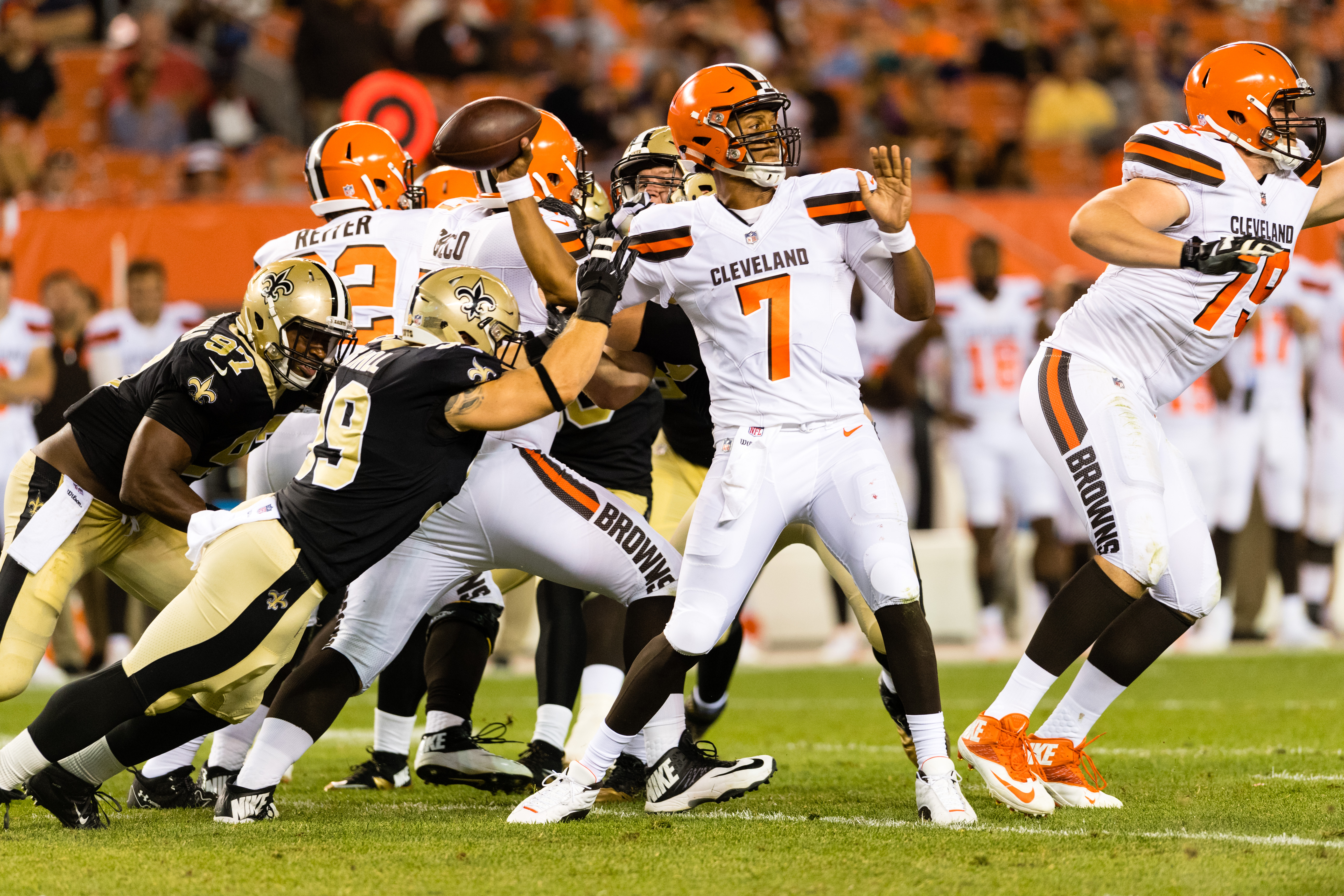 Cleveland Browns 20 New Orleans Saints 14 Video Highlights