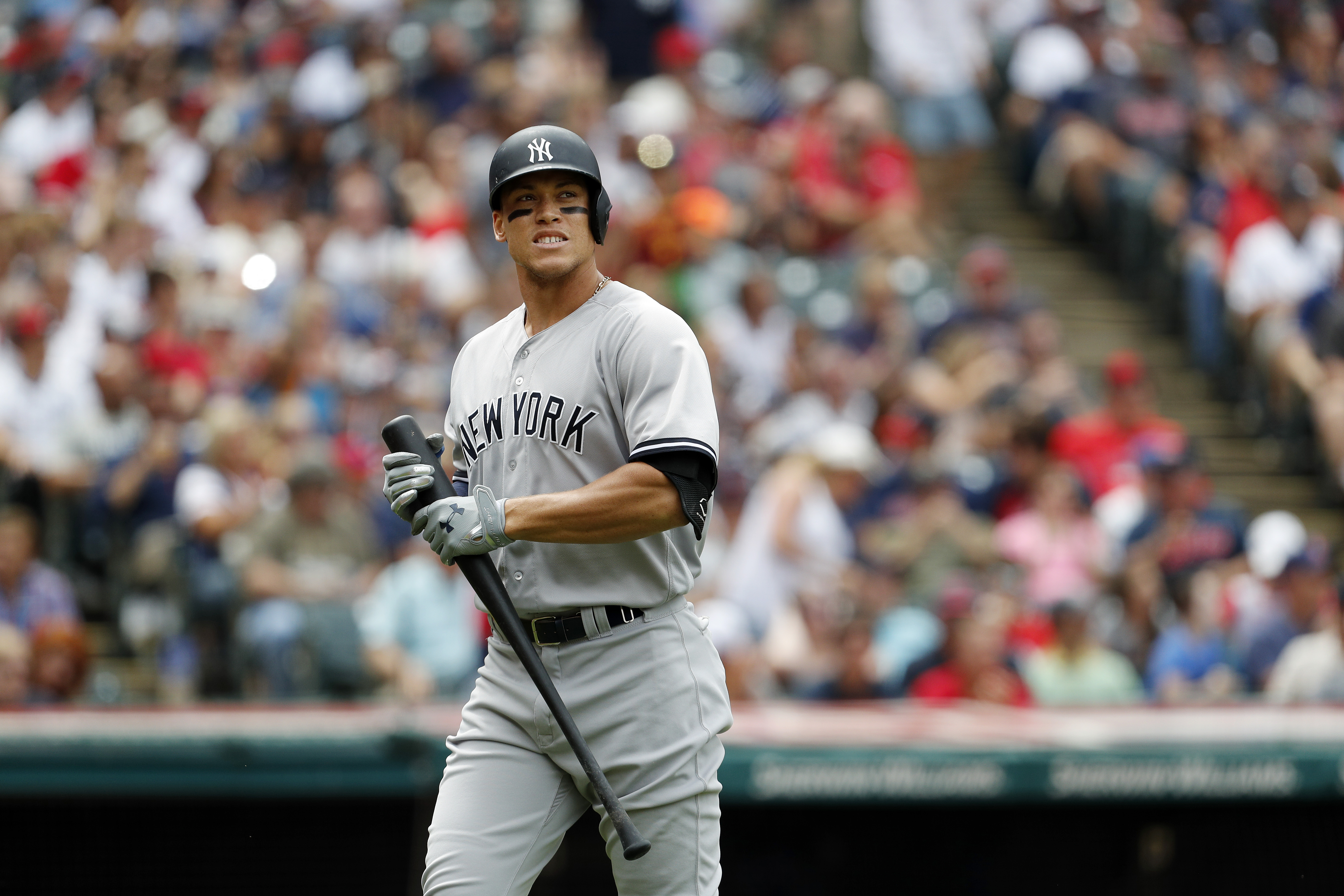 CLEVELAND OH – AUGUST 06 Aaron Judge